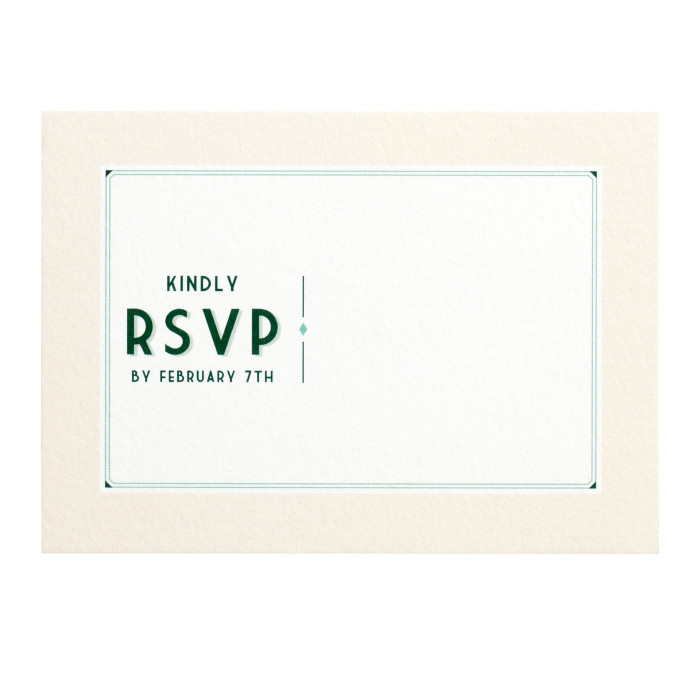 RSVP Reply Card Image