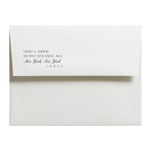 Thank You Card Envelope Thumbnail